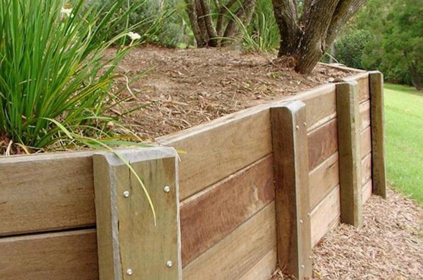 Retaining Wall | That's Fencing || Eastern Suburbs | Timber Fencing Specialist